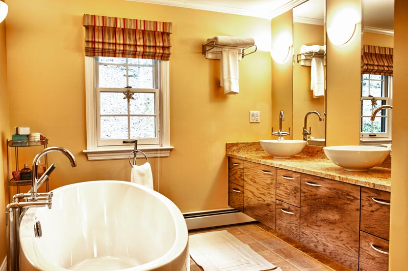 custom bathroom vanities cabinets carpentry nj